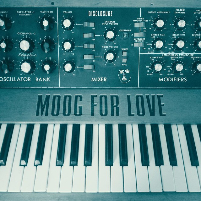 "Disclosure: ""Moog For Love"" EP"