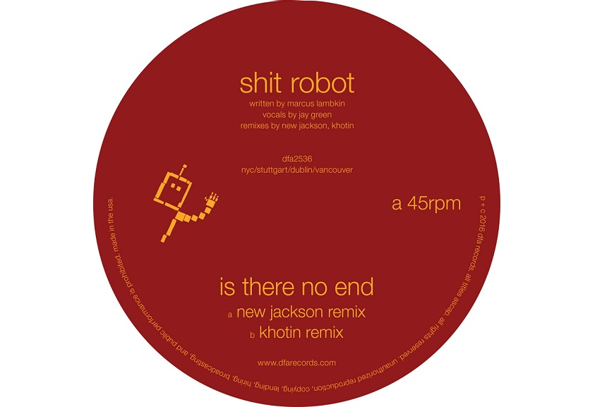 """Shit Robot: """"Is There No End (New Jackson Remix)"""""""