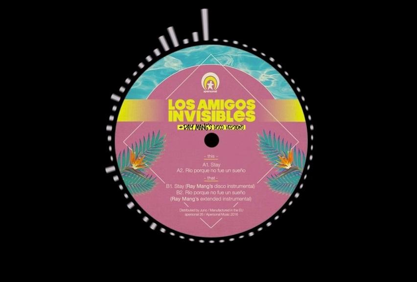 "Los Amigos Invisibles: ""Stay (Ray Mang's Disco Instrumental)"""