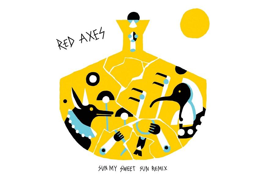 """Red Axes: """"Sun My Sweet Sun"""" (Konstantin Sibold Afro-Tech Remix)"""