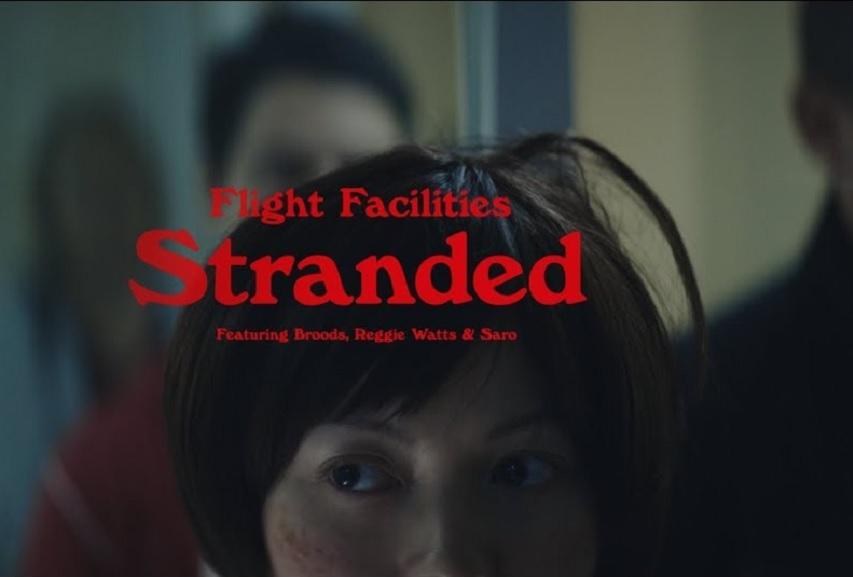 "Flight Facilities: ""Stranded"" (feat. Broods, Reggie Watts & Saro) Video"