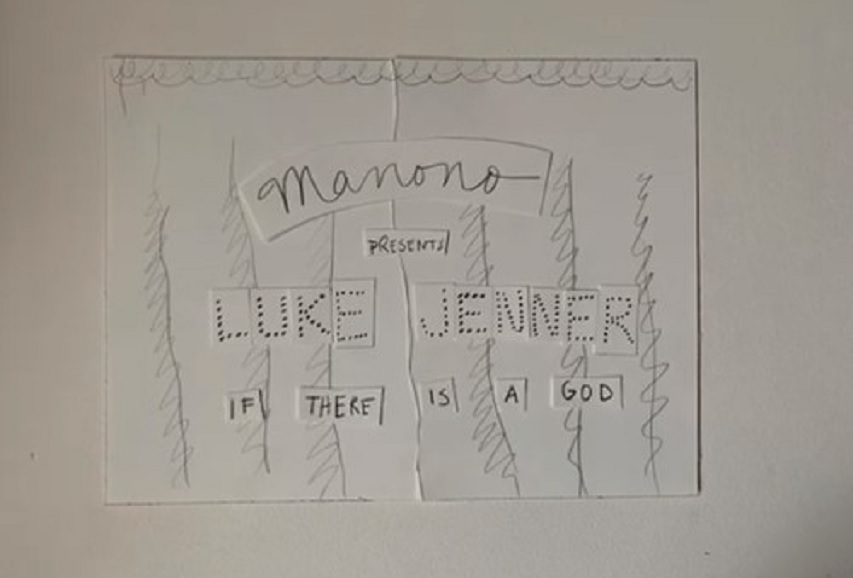 "Luke Jenner: ""If There Is a God"" Video"