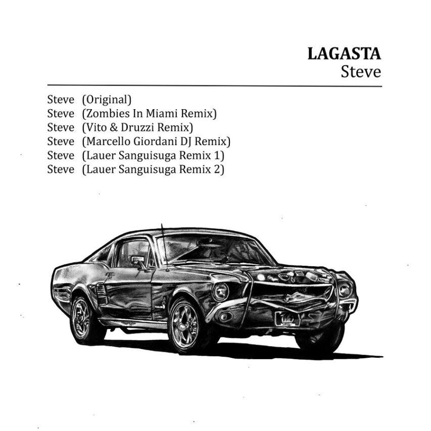 """LAGASTA: """"Steve"""" EP"""