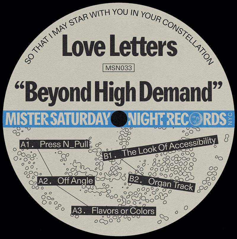 """Love Letters: """"Beyond High Demand"""" EP"""