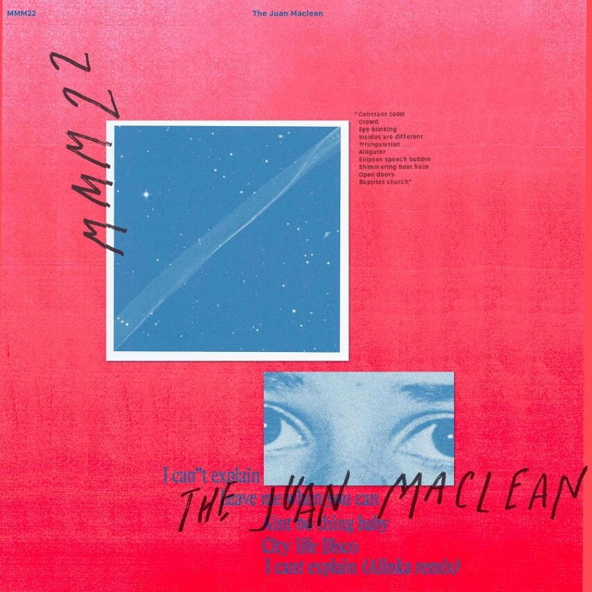 "Premiere | The Juan MacLean: ""I Can't Explain (Alinka Remix)"""
